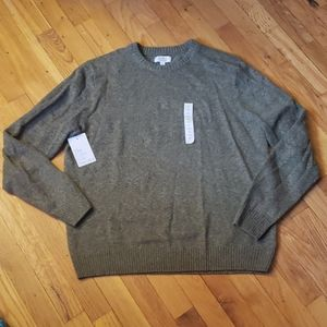 NWT Green Croft & Barrow Mens Medium Sweater